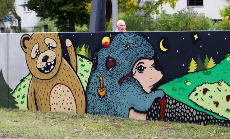 Noored kunstnikud muudavad Tallinna ilmet