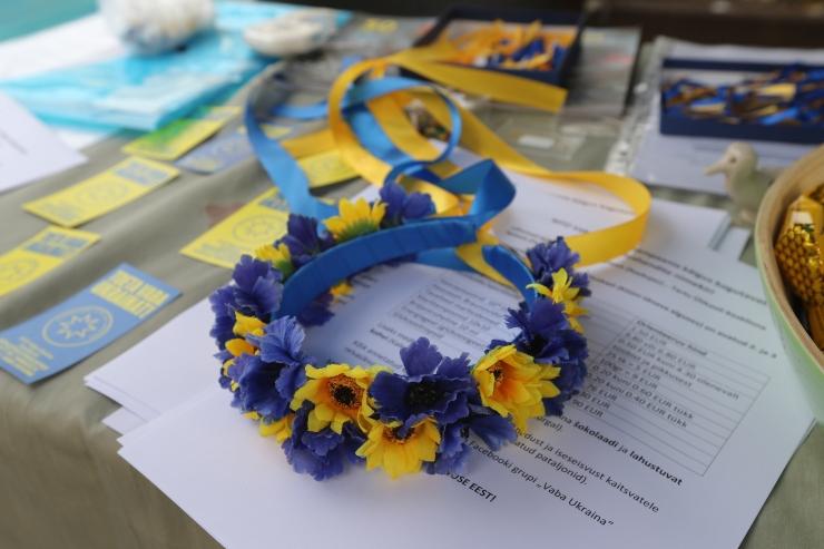 Vabaühendused on kampaaniaga kogunud Ukraina toetuseks üle 9000 euro