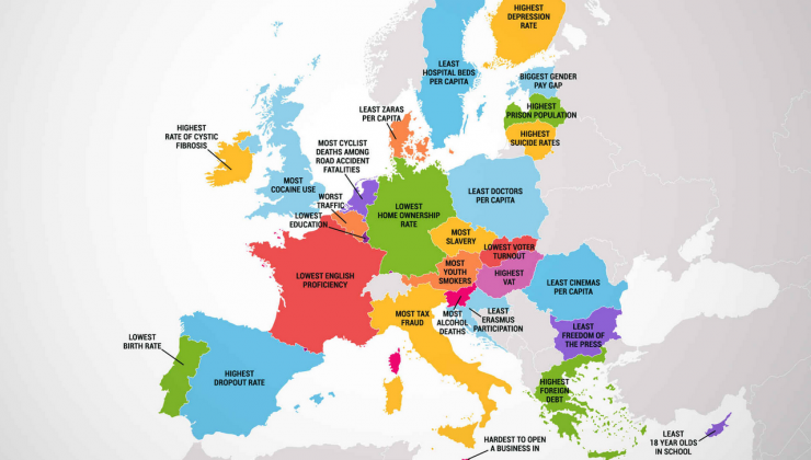 Vaata, milles on iga Euroopa riik halvim!