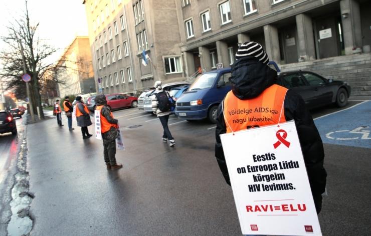 Tänavu on Eestis HIV-i nakatunud 283 inimest