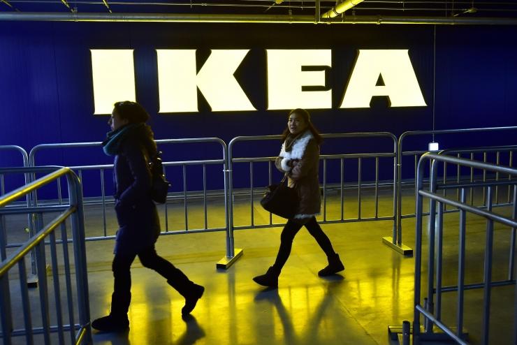 Tallinna kaubanduskeskuses müüb kaupa liba-IKEA pood