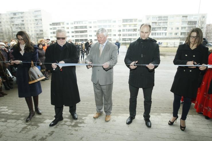 FOTOD! Õppelaboritega Lasnamäe Gümnaasium avas linnapea käe all uksed