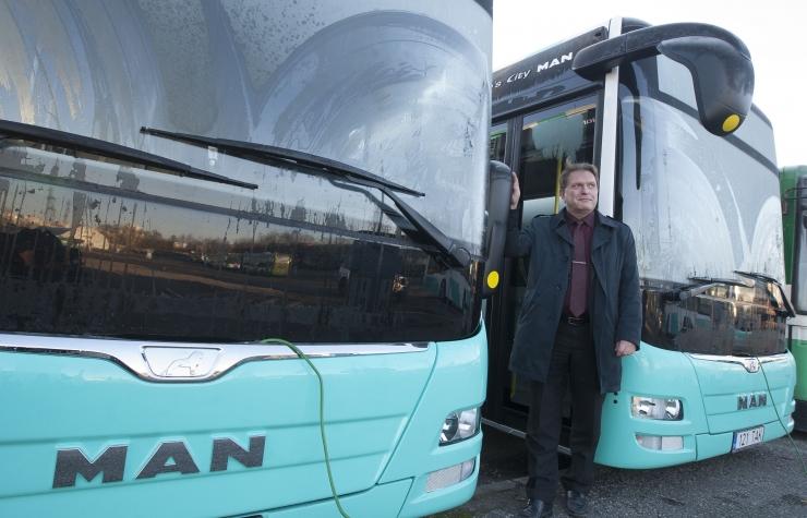 Bussijuhtide miinimumpalk kasvab 14,3%