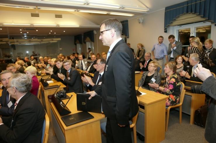 Tallinna linnavolikogu koosseisus tehti kolm muudatust