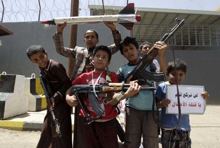 Viie lapsega pere soovib Jeemenist Eestisse tulla