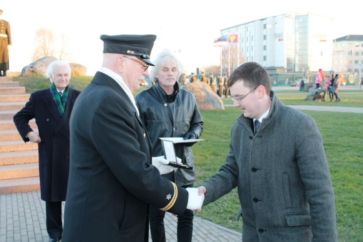 Lasnamäe linnaosa juht Jaanus Riibe pälvis aumärgi