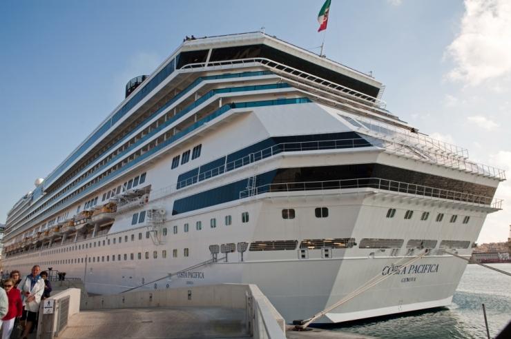 Esmaspäeval sildub Tallinnas hooaja esimene kruiisilaev Costa Pacifica