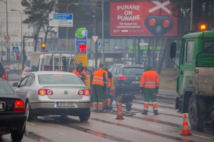 Tallinnas jätkub tänavate hooldusremont