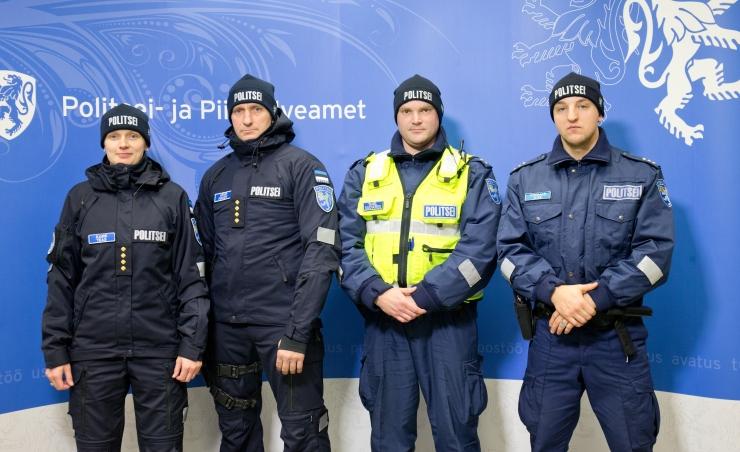 Rotary klubi tunnustab silmapaistvaid noori politseinikke
