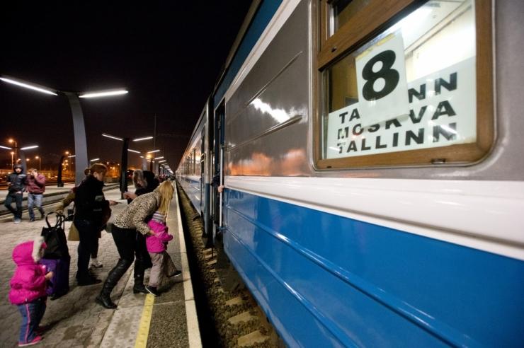 Eesti Raudtee: Tallinna-Moskva rongiliin tuleb ajutiselt sulgeda