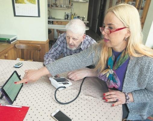 Linna nutihool jälgib koduse haige tervisenäitajaid ja aitab abi kutsuda