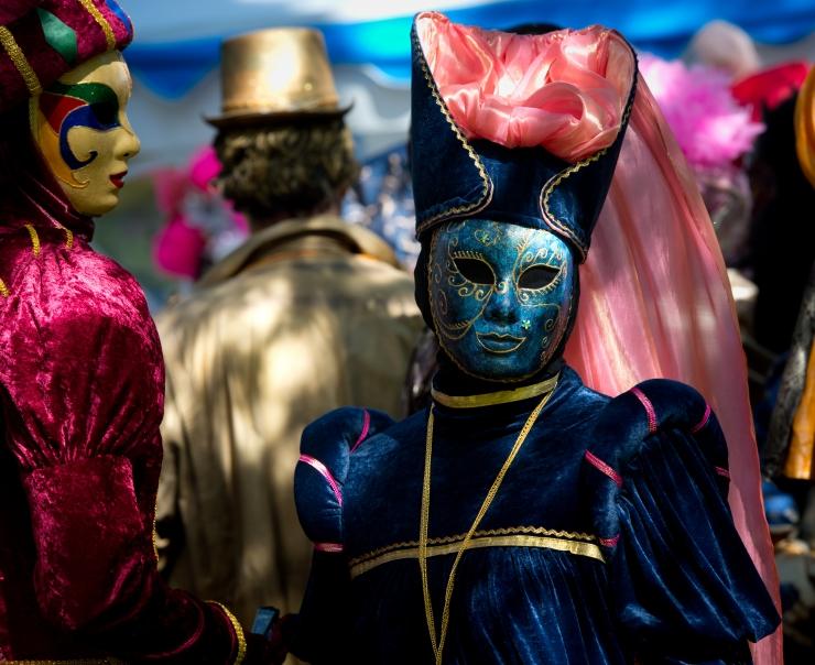 TÄNA! Kristiines toimub Veneetsia karneval