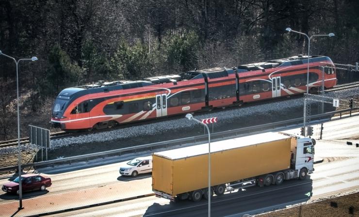Selgus Rail Balticu trassivalik Harju- ja Raplamaal
