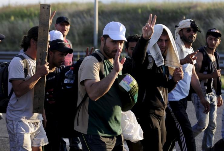Kuuldus pagulaskeskusest ajas inimesed marru