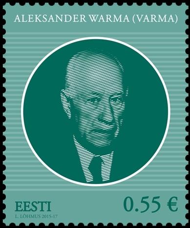 Ilmub Eesti riigipeade seeria uus postmark