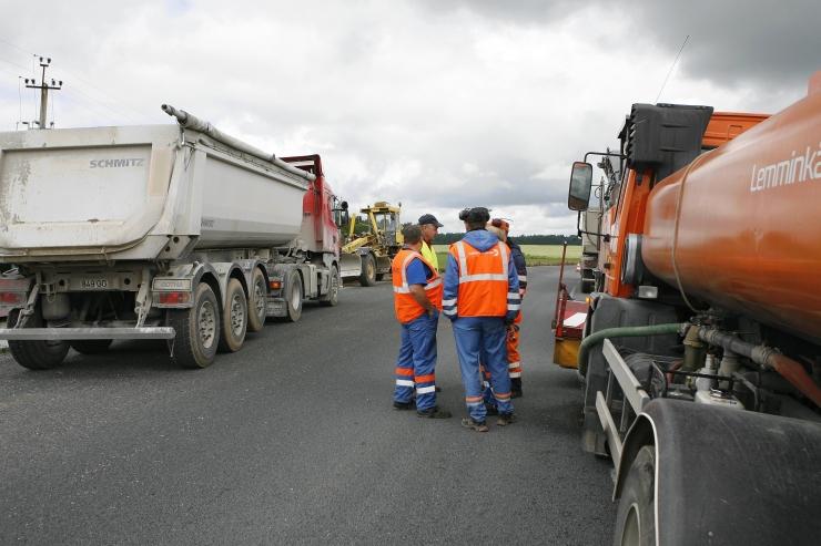 Lasnamäel on algamas mitmed teede remondi- ja ehitustööd