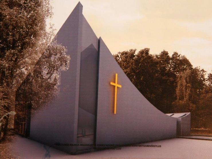 FOTOD! Mustamäele kerkib kirik