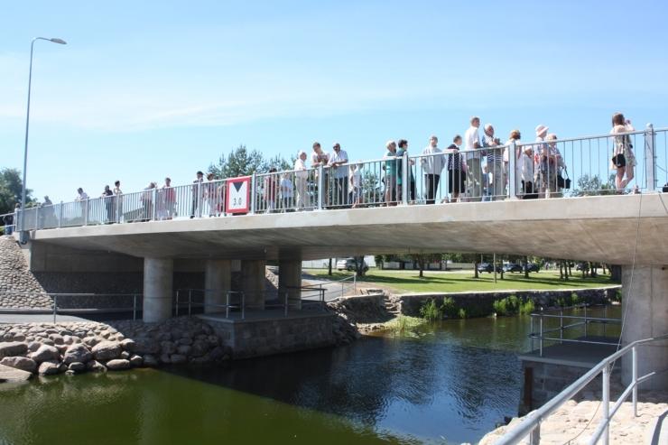 Tallinna juhid osalesid Mustvee uue silla avamisel