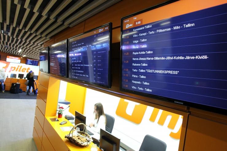Tallinna bussijaamas algavad kaks kuud vältavad juubelipidustused