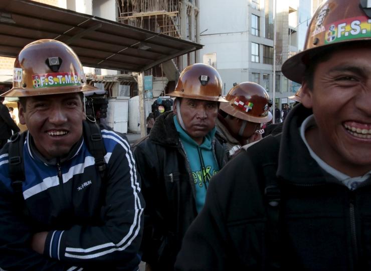 Tšiili kaevurid nõuavad palgatõusu ja paremaid töötingimusi