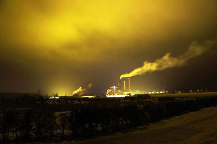 Juunis vähenes elektritootmine 42 protsenti