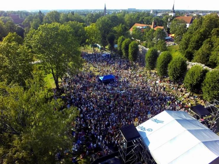 Viljandi folgi esimene päev kujunes rahvarohkeks