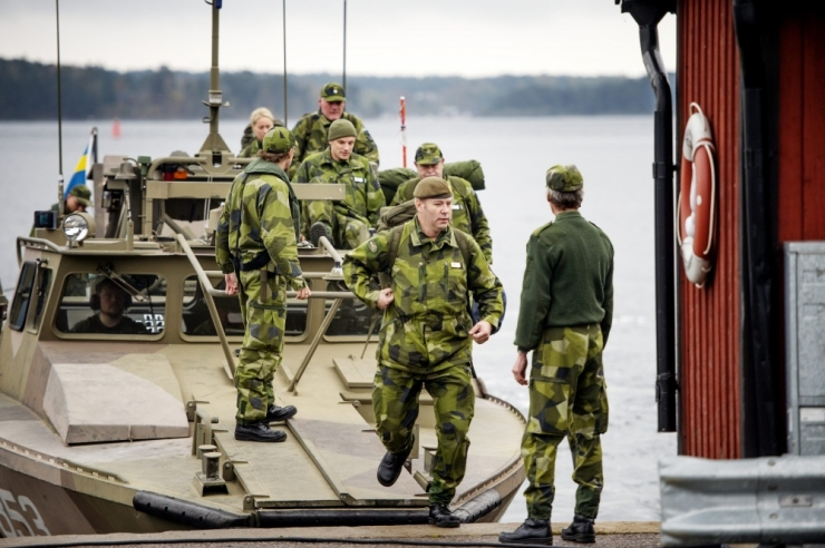 Rootsi vetest leiti võõrriigi allveelaev