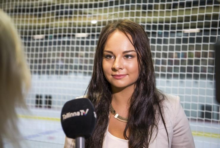 Elena Glebova: jäähall teenis esimeseks sünnipäevaks miljon eurot