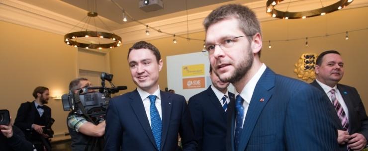 Karilaid: koalitsioonilepingu avamisest on saamas Ossinovski proovikivi