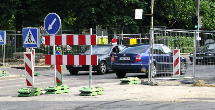 Liikluse sulgemised augusti viimasel nädalal