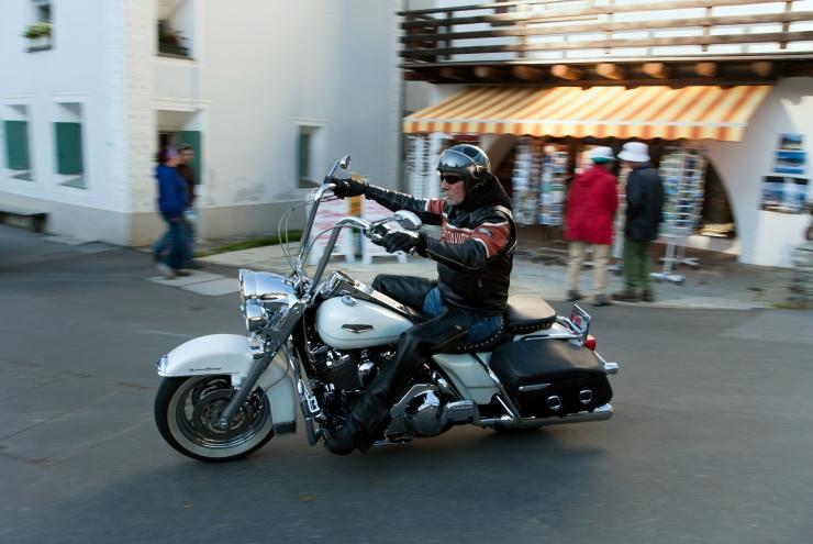 Harley Davidsonile sõitis otsa Škoda