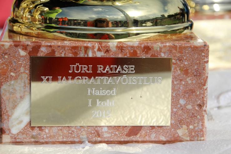 Jüri Ratase XI jalgrattavõistluse võitis Helmet Tamkõrv