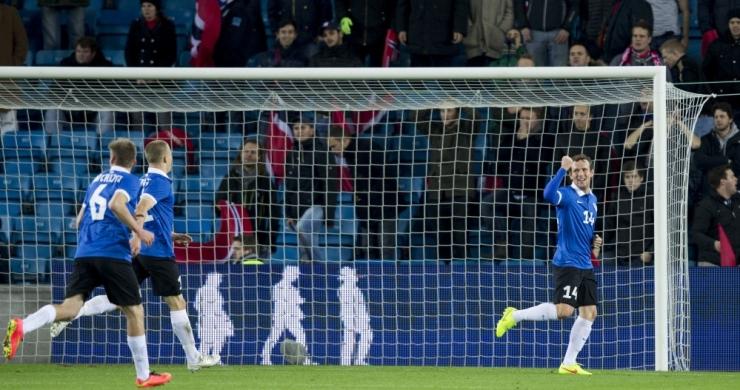 VIDEO! Vassiljevi värav tõi jalgpalli EM-valiktsüklis 1:0 võidu