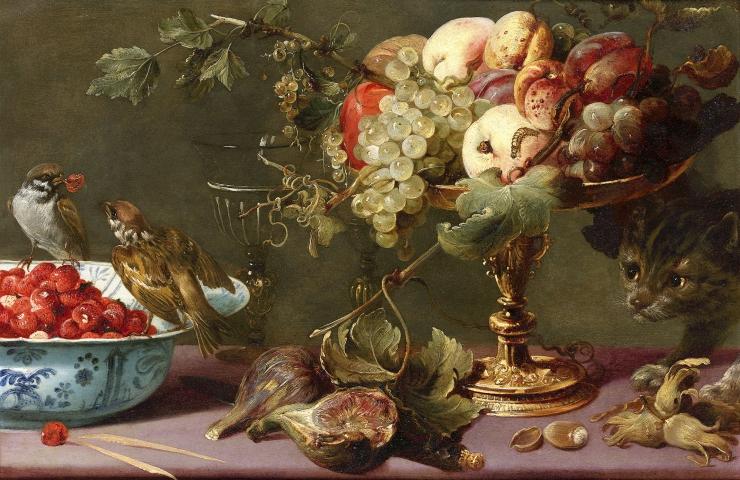 FOTOD! Madalmaade klassikute näituse lõpetavad loeng, ilutulestik ja muusika