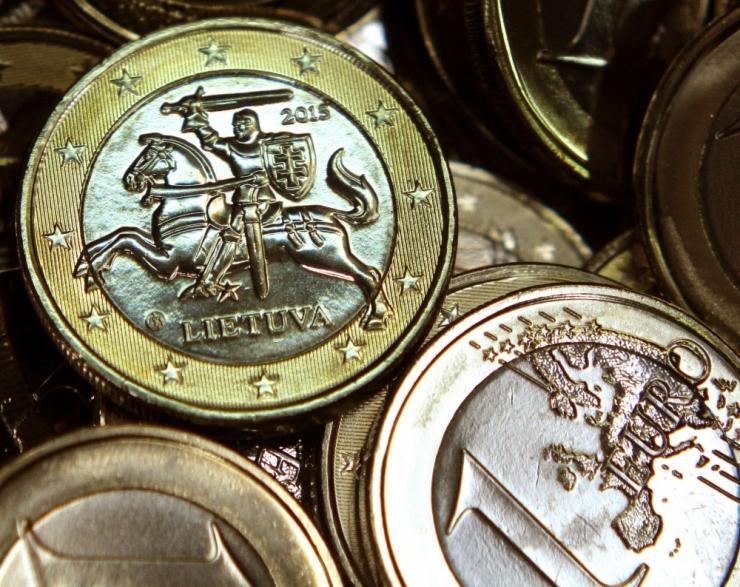 Leedu börsifirmade poolaastakasum vähenes 33 protsenti
