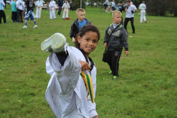 FOTOD! Taekwondolane Eloura: poisid kardavad mind veidi!