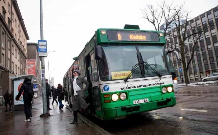 Ümera tänava remonttööd muudavad bussiliiklust