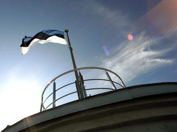 Kooliõpilased heiskasid riigilipu Pika Hermanni torni