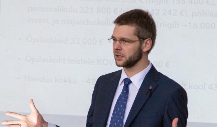 Ossinovski peab mõistlikuks 10-protsendilist alampalga kasvutempot