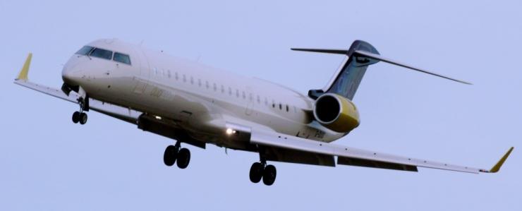 Estonian Air sai kätte esimese kahest CRJ700 lennukist