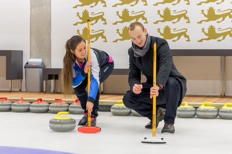 Eesti curling avab suurvõistlusega põneva hooaja