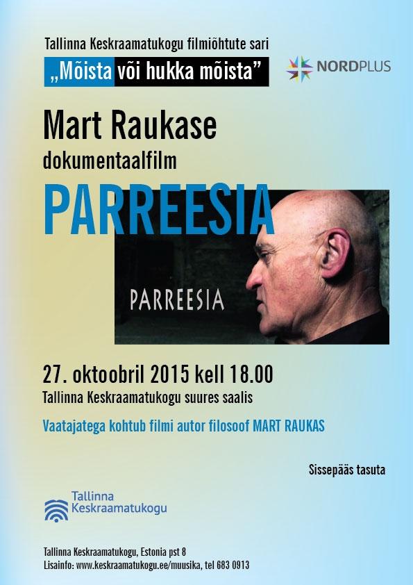 """Tallinna algab filmiõhtute sari """"Mõista või hukka mõista"""""""