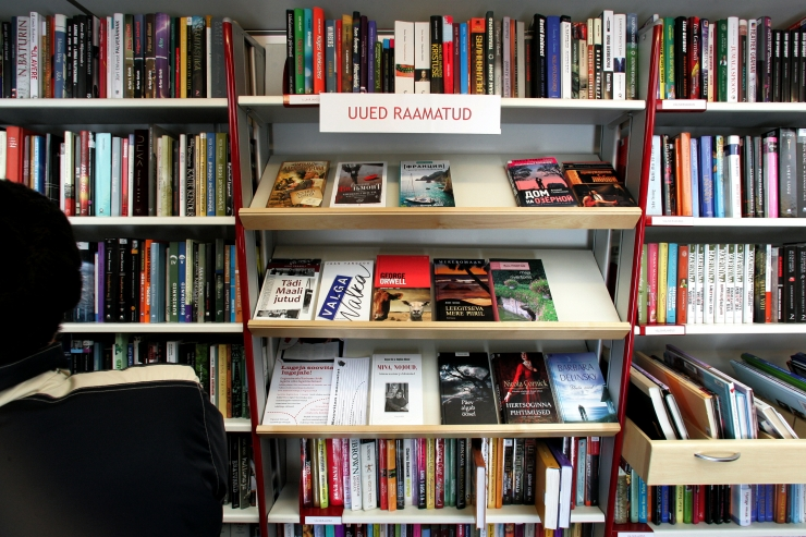 """Algab Tallinna Keskraamatukogu lugemisprogramm """"Raamatuga kevadesse"""""""