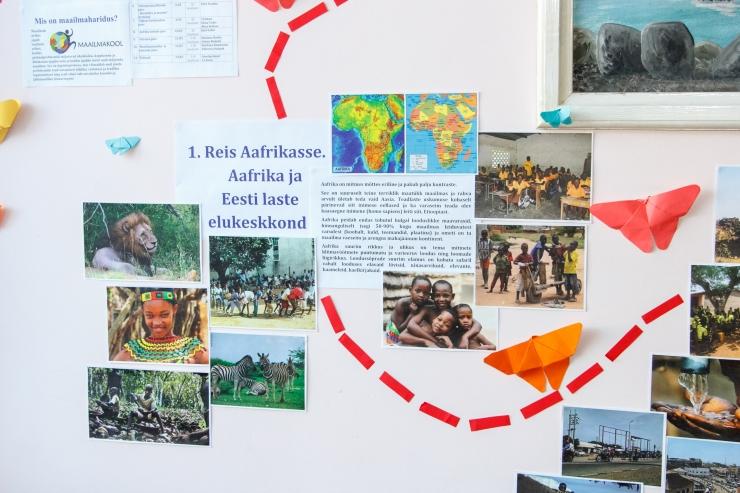 Maailmanädala korraldamine tõi õpetajale preemiareisi Ghanasse