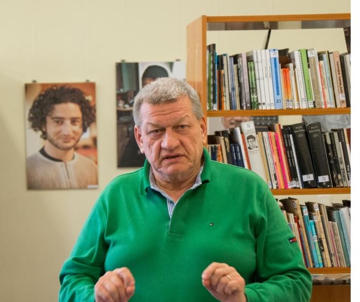 Tallinna Ülikool esitles raamatut Arvo Ihost