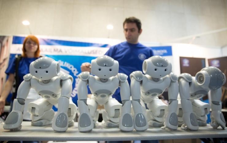 Robotex saadab Baltimaade parimad sumorobotid Jaapanisse MM-ile