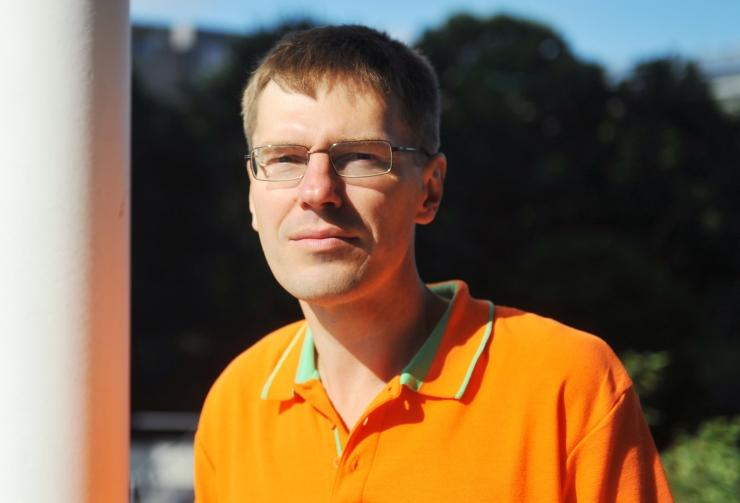 Tarmo Vahter kohtub Tallinna keskraamatukogus lugejatega