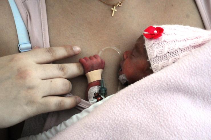 FOTOD! Doktor Andresson: keegi pole enneaegse lapse sünnis süüdi!