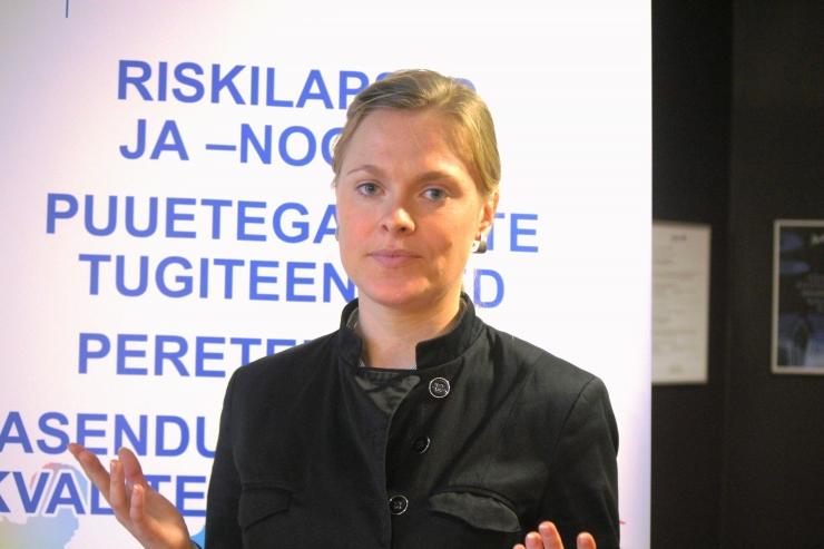 Gabriela Laanet: iga aasta lisandub Eestis 1000 puudega last!