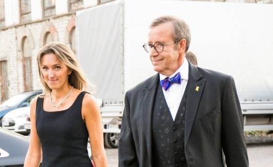 Toomas Hendrik Ilves kihlus lätlanna Ieva Kupcega